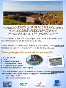 Flyer W-E Familles O CYTO 2020
